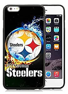 For iPhone 6 Plus,Pittsburgh Steelers 2 Black iPhone 6 Plus(5.5 inch) Case Online