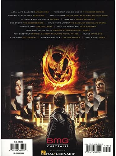 The Hunger Games: Songs From District 12 And Beyond - Guitar ...