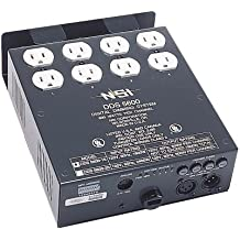 Leviton N5600-D20 4-Channel 600 Watt/Channel 20-Amp Power Supply Cord Dimmer/Relay System, Micro-Plex And 0-10V, DMX Installed, 120V