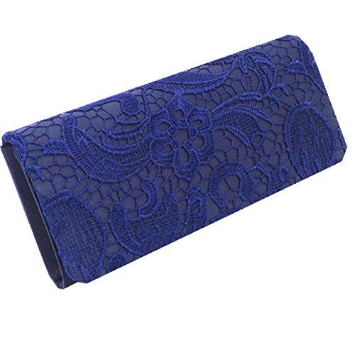 TOMATO-smile - Bolso mochila  de Satén para mujer blanco café Tiefes Blau