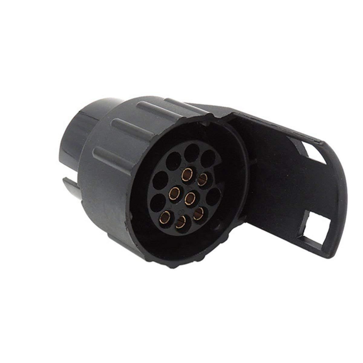 Adaptador el/éctrico Impermeable para Remolque de 7 a 13 Pines Jebester