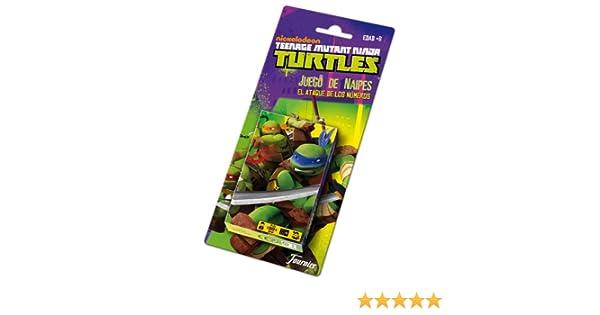 Tortugas Ninja - Baraja de Naipes (Fournier 43810)