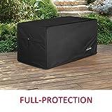 shieldo Deck Box Cover- Heavy Duty 600D Polyester