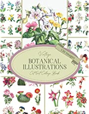 Vintage Botanical Illustrations Cut Out Collage Book: 130 Copyright-Free Images of Flowers & Cactus : Cutout Ephemera For Junk Journals, Scrapbooking, Decoupage, Card Making & Mixed Media
