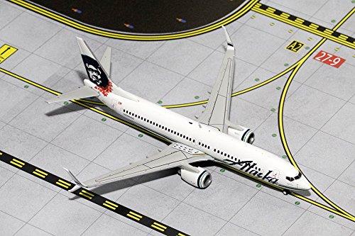 GJASA1426 Gemini Jets Alaska Airlines B737-800(S) Model Airplane