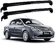 Rack New Wave Toyota Etios Sedan 2013 / 2019 Preto Eqmax