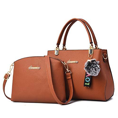 in One Donna Bags Fashion Mobile grande Khaki Mother Bag Xmy Atmosphere Bag capienza Shoulder WildBlack lJFK1c