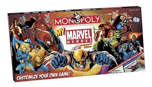 My Marvel Heroes Monopoly
