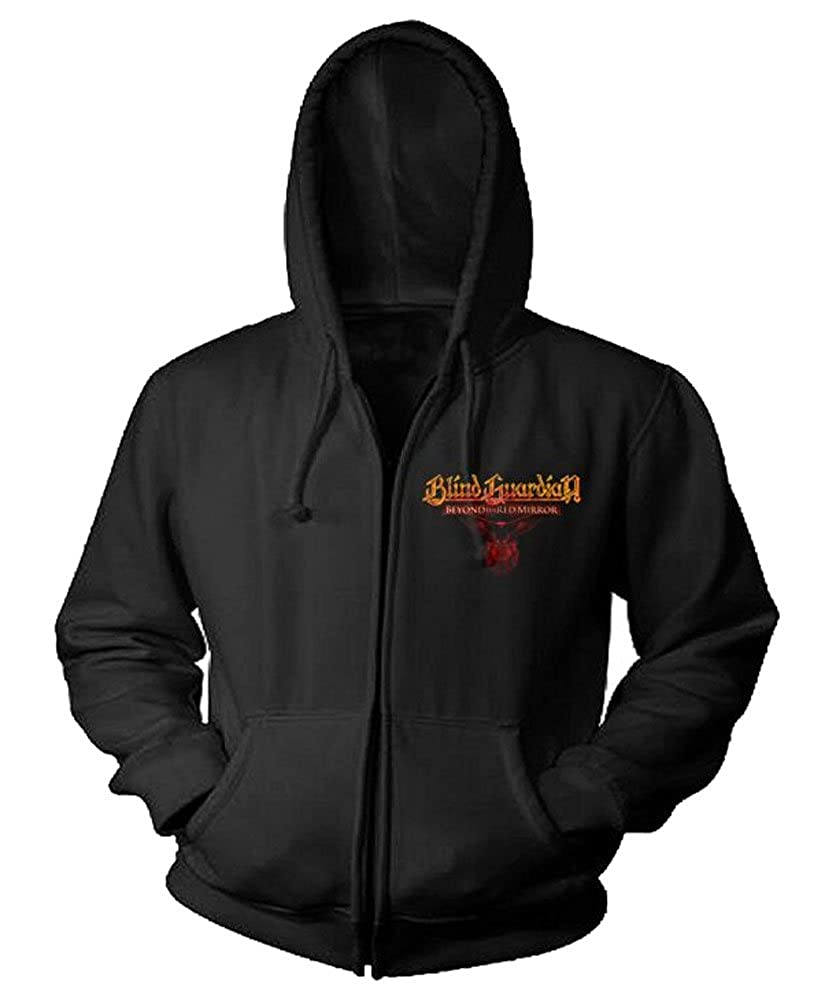 Blind Guardian - Männer Beyond The ROT Spiegel 2015 Tour Dates Zip Hoodie