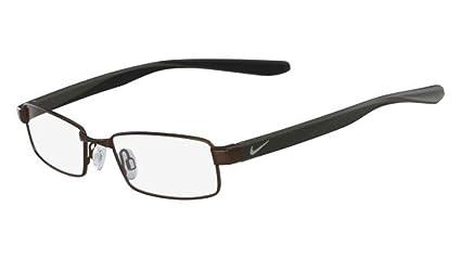 26a59211b8 Amazon.com  Eyeglasses NIKE 8176 215 BROWN  Sports   Outdoors