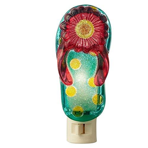 Flip Flop Night Light (Home Decor FLIP FLOP NIGHTLIGHT Plastic Summer Fun 127180)