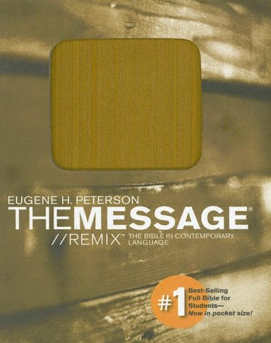The Message// Remix: The Bible in Contemporary Language, Mustard