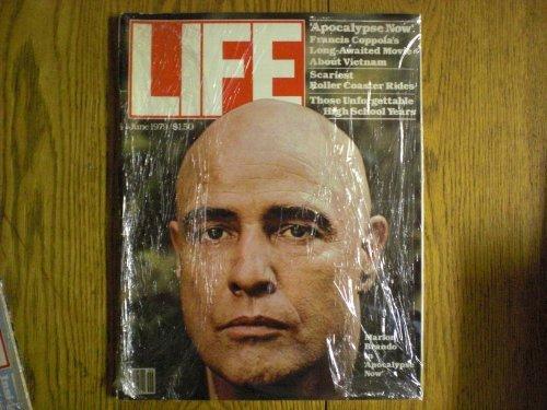 LIFE  Magazine - June, 1979 - Cover: Marlon Brando