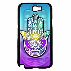 Colorful Tribal Print Hamsa TPU RUBBER SILICONE Phone Case Back Cover Samsung Galaxy Note II 2 N7100