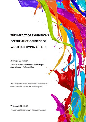 The Impact of Exhibitions on the Auction Price of Work for Living Artists por Paige Wilkinson,Stephen Sheppard,Steven Nafziger