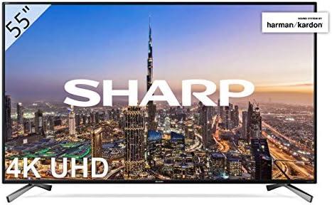 "Sharp - UHD Smart TV Slim de 55"""