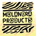 Molandra Products #Kenosha - White Hashtag 20oz Stainless Steel Water Bottle with Carabiner