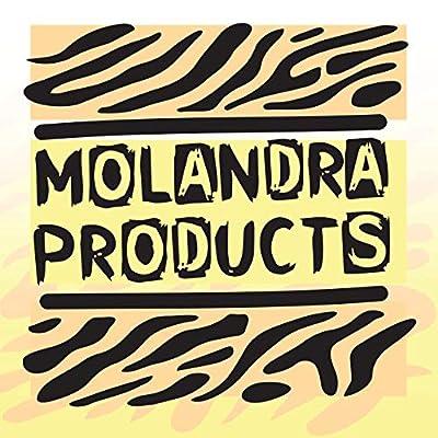 Molandra Products #Kenosha - White Hashtag 20oz Stainless Steel Water Bottle with Carabiner
