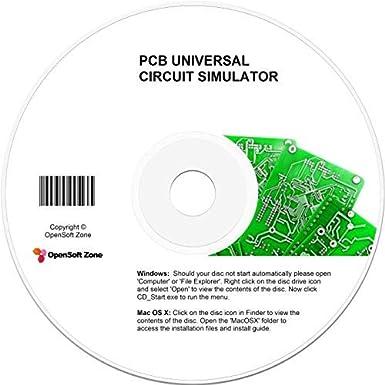 PCB Universal Circuit Simulator - CAD Printed Board Layout