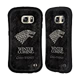 Official HBO Game Of Thrones Stark Dark Distressed Sigils Hybrid Case for Samsung Galaxy S6 edge+ / Plus