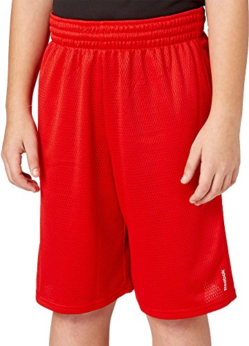 Reebok Boys' Mesh Shorts - Primal Red, XL