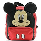 "Disney Mickey Mouse Ear 12"" Mini Backpack for Kids Back to School Bag -"