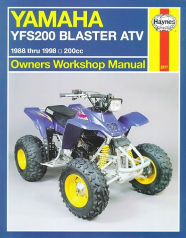 Yamaha YFS200 Blaster ATV '88'98 (Haynes Owners Workshop Manual Series)