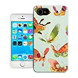 BreathePattern-Colorful Butterfly-Apple iPhone 4 case