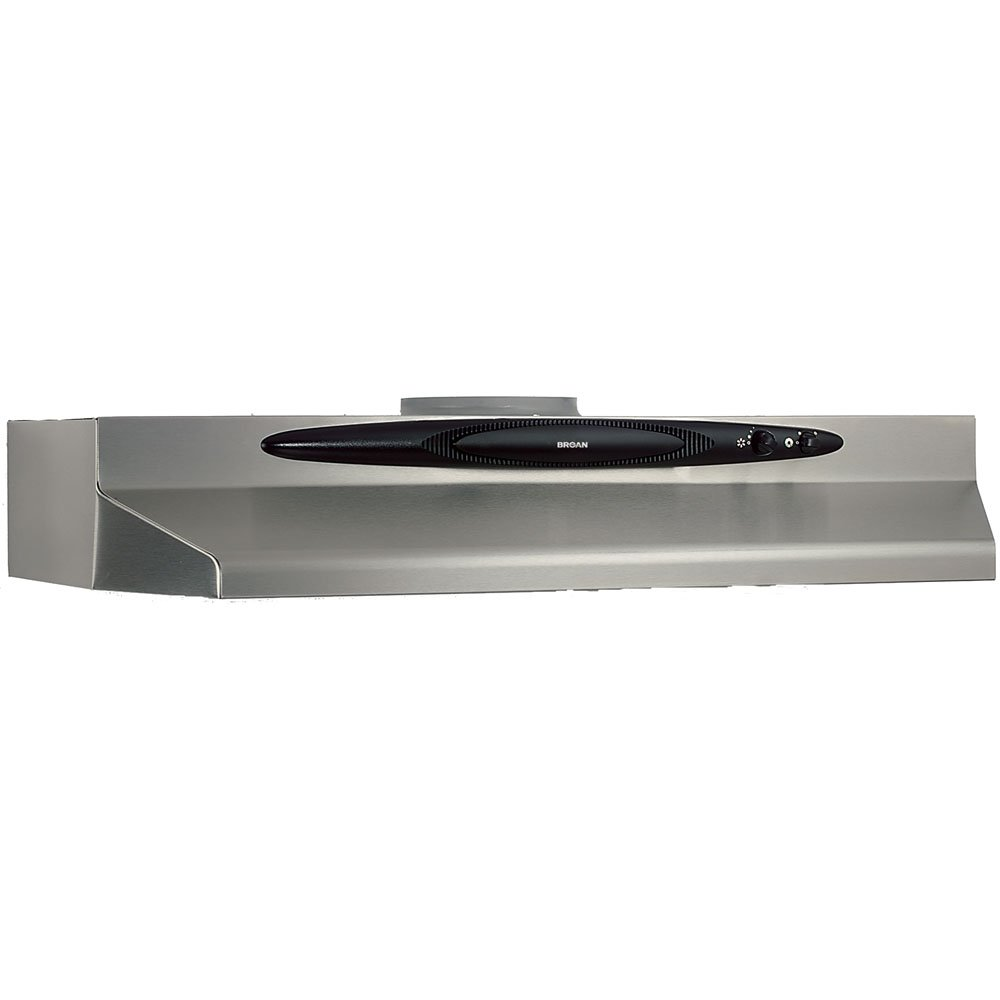 510GTtIYBaL._SL1000_ amazon com broan qt242ss under cabinet range hood, 42 inch ventline range hood wiring diagram at readyjetset.co