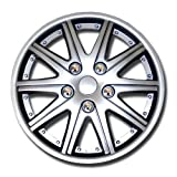1987 chevy caprice hub caps - TuningPros WSC-027S15 Hubcaps Wheel Skin Cover 15-Inches Silver Set of 4