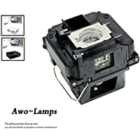 AWO Premium Replacement Lamp with Housing For ELP-LP68/V13H010L68 PowerLite Home Cinema 3010/HC3010e/3020 3D/3020e 3D; EH-TW5900/TW5910/TW6000/TW6000W/TW6100