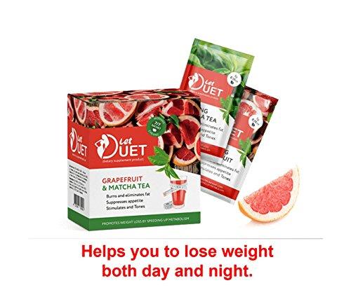 Let Duet grapefruit & matcha Control BURNER WEIGHT LOSS DIET 70 g Original 100% by Hendel`s Garden
