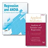 img - for Regression and ANOVA: An Integrated Approach Using SAS Software + Applied Statistics: Analysis of Variance and Regression, Third Edition Set book / textbook / text book