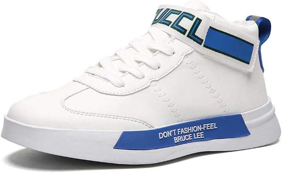Zapatos para Hombre Calzado Deportivo Gran tamaño Adicional for Correr al Aire Libre for Hombre Espesar Sole Zapatillas de Deporte Estudiantes de otoño del Resorte con Cordones Running: Amazon.es: Hogar