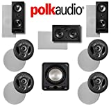 Polk Audio 900-LS 7.1 Vanishing Series In-Wall / In-Ceiling Home Theater System (900-LS + 265-LS + 255C-LS + HTS12)