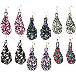 Cousin Paracord Kit, Teardrop Earrings