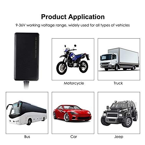 TOOGOO GT06N GPS Tracker Car 2G GSM Remote Cut-Off Oil Real Time Tracking  GPS Locator SOS Alarm Voice Monitoring Geo-Fence Moving Alarm