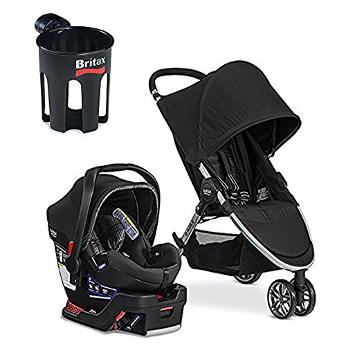 britax 2017 b agile b safe 35 elite travel system cup holder domino tiny little feet. Black Bedroom Furniture Sets. Home Design Ideas
