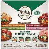 Nutro Core Wet Dog 10172790 Petite Eats Adult Wet Dog 10172788 Food Variety Pack, 3.5 oz