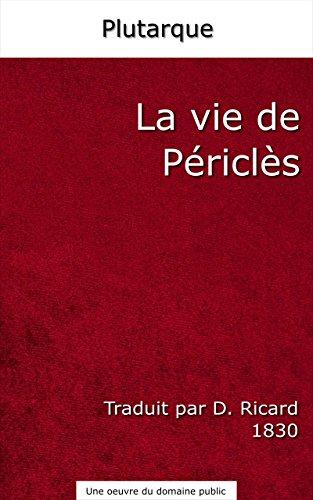 la-vie-de-pericles-traduit-par-d-ricard-1830-french-edition