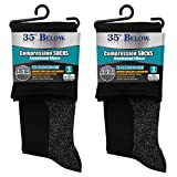 35 Below Compression Socks - As Seen On TV - 2