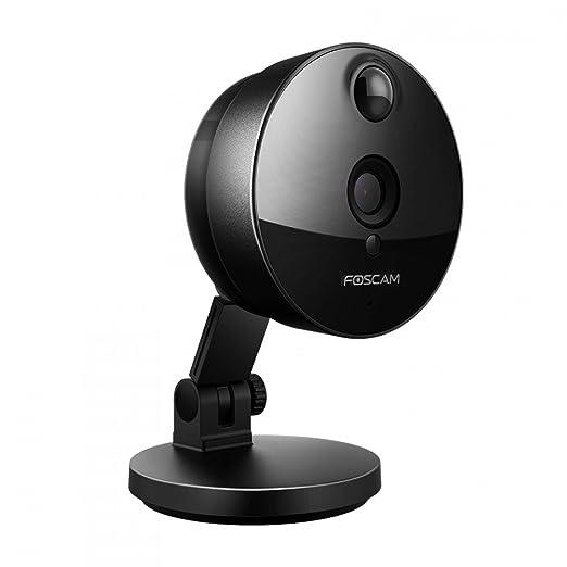 112 opinioni per Foscam C1 Telecamera IP HD 720p da Interno, Wireless, P2P, Visore Notturno,