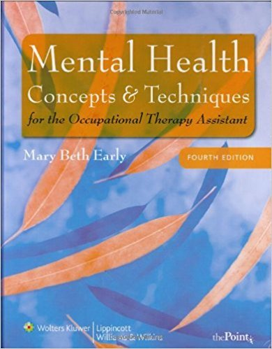 MENTAL HEALTH CONCEPTS TECH OTA 4E CB