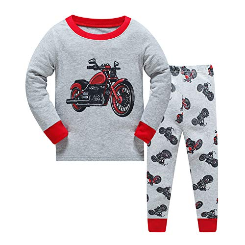 long sleeve pajamas toddler cotton