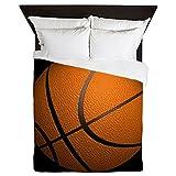 CafePress - Basketball Sports - Queen Duvet Cover, Printed Comforter Cover, Unique Bedding, Microfiber