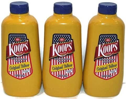 Mustard: Koops Original Yellow
