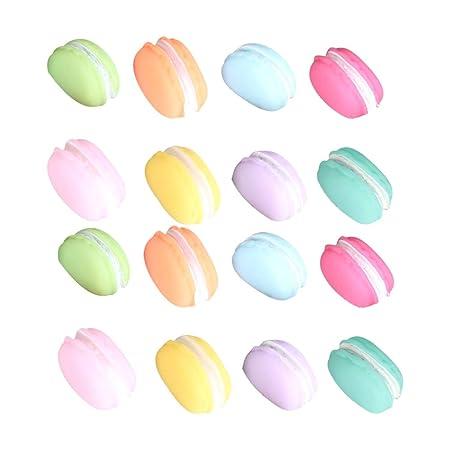 UPKOCH 8 imanes para nevera con forma de macaron, magnéticos, para ...