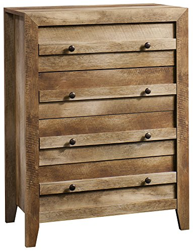 "Sauder 418175, Dressers, Chest, 32.677"" L X 17.52"" W X 43.228"" H, Craftsman Oak"