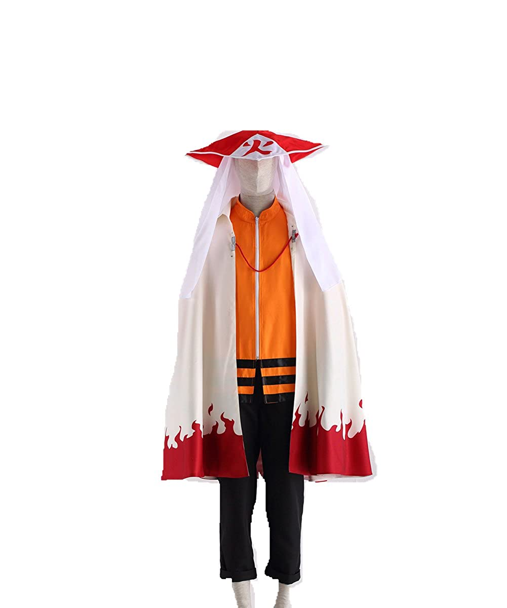 Amazon.com: Love Anime Ninja Shinobi Cosplay Costume-Uzumaki ...