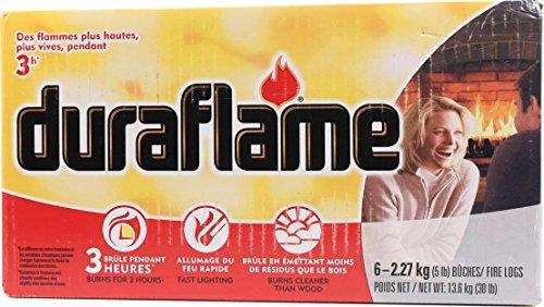 DURAFLAME FIRE LOG - 5 POUND/6 PACK